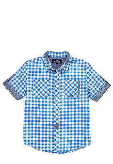 Buffalo David Bitton Sihib Button Down Woven Shirt Boys 8-20