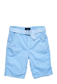 Buffalo David Bitton Solid Flat Front Short Boys 8-20