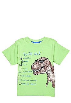 Sweet Potatoes T-Rex To Do List Tee Boys 4-7