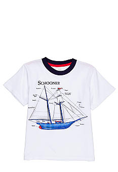 Sweet Potatoes Schooner Tee Boys 4-7