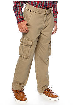 Red Camel Boys Belted Cargo Pant Boys 8-20