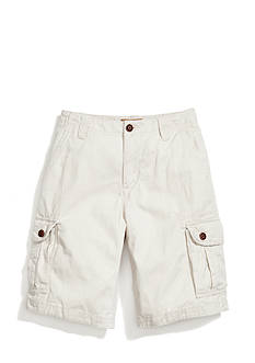 Red Camel Twill Cargo Shorts Boys 8-20