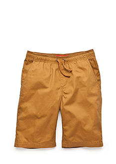 Red Camel Woven Jogger Shorts Boys 8-20
