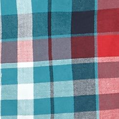 Boys Button Down Shirts: Teal/Red Plaid Red Camel Long Sleeve Plaid Woven Shirt Boys 8-20