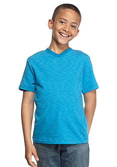 Red Camel Textured V-Neck Tee Boys 8-20