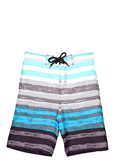 Red Camel Boys® Print Swim Trunk Boys 8-20