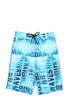 Red Camel Boys Print Swim Trunk Boys 8-20