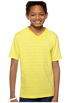 Red Camel Boys® Stripe V-Neck Tee Boys 8-20