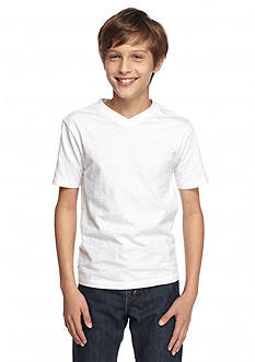 Red Camel V-Neckline Tee Boys 8-20