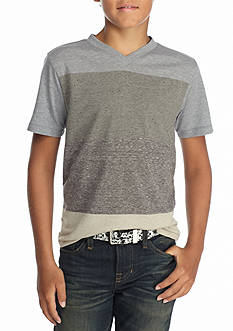 Red Camel Colorblock V-Neck Tee Boys 8-20