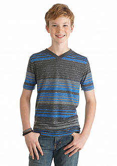 Red Camel Stripe Tee Boys 8-20