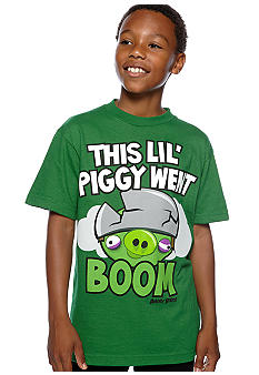 Angry Birds This Little Piggy Tee Boys 8-20