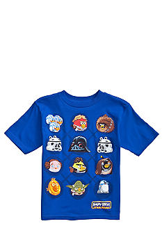 Angry Birds & Star Wars Circle Graphic Tee Boys 4-7