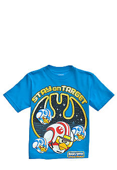 Angry Birds & Star Wars Stay On Target Graphic Tee Boys 4-7