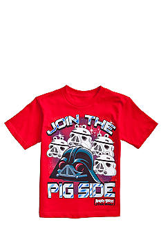 Angry Birds & Star Wars Join the Pig Side Graphic Tee Boys 4-7