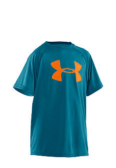 Under Armour Big Logo Tech Tee Boys 8-20