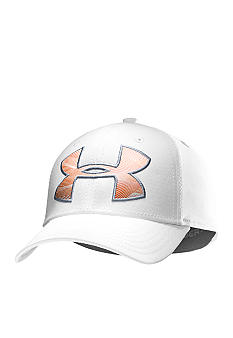 Under Armour Logo Stretch Fit Cap Boys 8-20