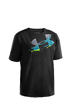 Under Armour Big Logo Splat Tee Boys 8-20