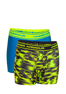 Under Armour 2-Pack Printed HeatGear® Boxer Jock Boys 8-20