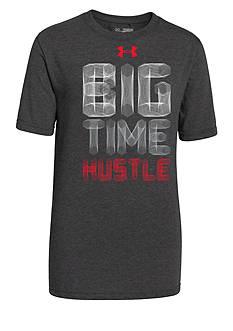 Under Armour® Big Time Hustle Tee Shirt Boys 8-20