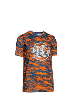 Under Armour Coolswitch Camo Tee Boys 8-20