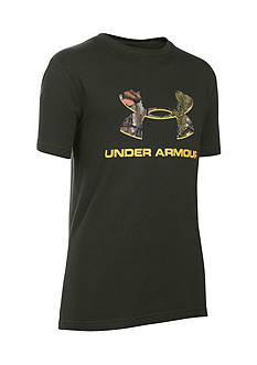 Under Armour Camo Fill Logo Tee Boys 8-20
