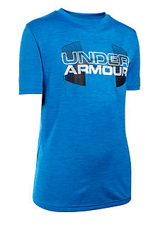 Under Armour Tech Big Logo Hybrid Tee Boys 8-20