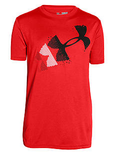 Under Armour Rising Logo Tee Boys 8-20
