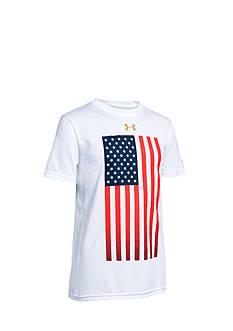 Under Armour Americana Flag Tee Boys 8-20