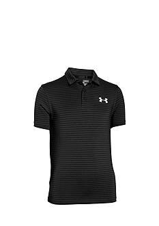 Under Armour Composite Stripe Polo Shirt Boys 8-20