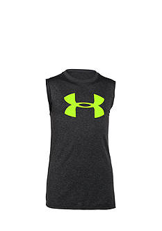 Under Armour Big Logo Muscle Tank Boys 8-20