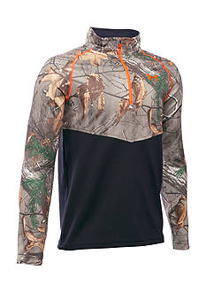 Under Armour Thermal Camo 1/4 Zip Boys 8-20