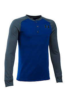 Under Armour Waffle Henley Shirt Boys 8-20