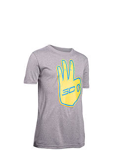 Under Armour Steph Curry Behind The Line Tee Boys 8-20