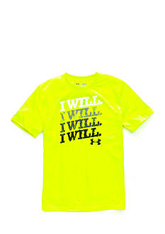 Under Armour 'I Will' Chalk Tee Boys 8-20