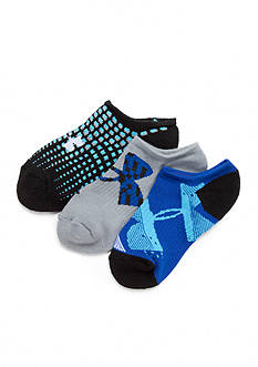Under Armour 3-Pack Next Logo Solo Socks Boys 8-20