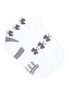 Under Armour Heatgear Low Cut 3-Pack Socks Boys 8-20