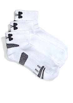 Under Armour 3-Pack Low Cut Socks Youth Large