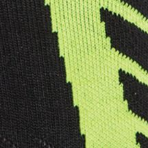Boys Socks and Underwear: Black/High-Vis Yellow Under Armour Undeniable Crew Socks Boys 8-20