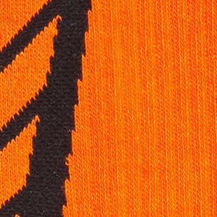 Boys Underwear: Blaze      Orange /   Black Under Armour Undeniable Crew Socks Boys 8-20