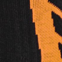 Baby & Kids: Accessories Sale: Black/Blaze Orange Under Armour Undeniable Crew Socks Boys 8-20