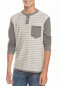 Lucky Brand Stripe Tee Boys 8-20