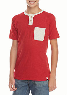 Lucky Brand Pocket Raglan Boys 8-20