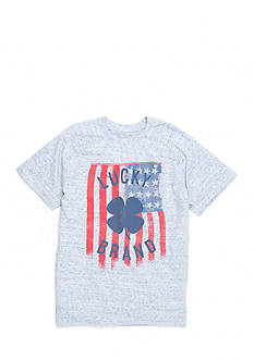Lucky Brand Flag Tee Boys 4-7