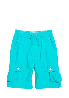 Lucky Brand Pull On Twill Cargo Shorts Boys 4-7