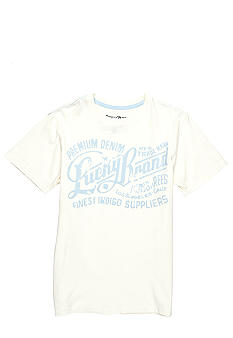 Lucky Brand Finest Indigo Screen Tee Boys 4-7