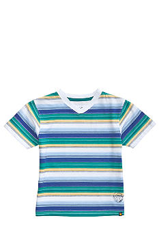 Lucky Brand Mt. Fuji Striped V-Neck Tee Boys 4-7
