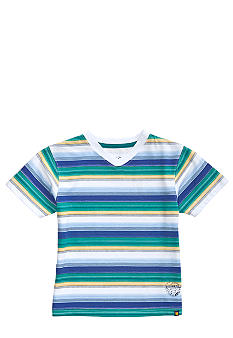 Lucky Brand Mt. Fuji Striped V-Neck Tee Boys 8-20