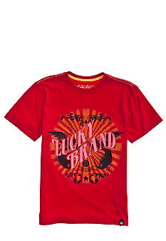 Lucky Brand Live and Loud Tee Boys 4-7