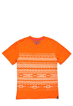 Lucky Brand Playa Printed V-Neck Tee Boys 4-7